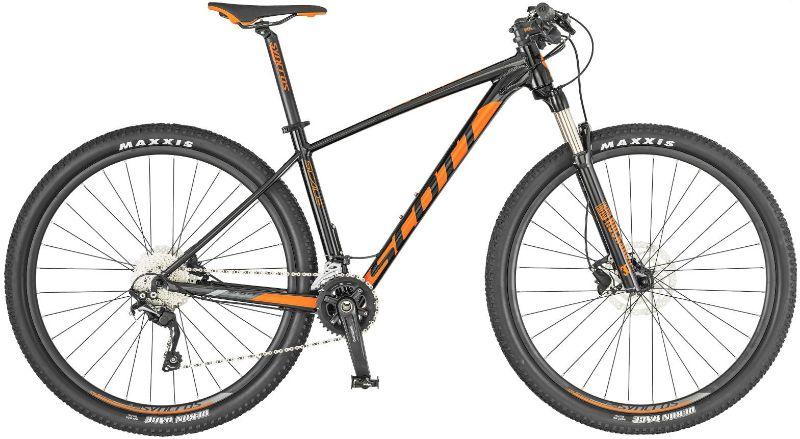 De Scott Scale 970 is een hele fijne beginners mountainbike.