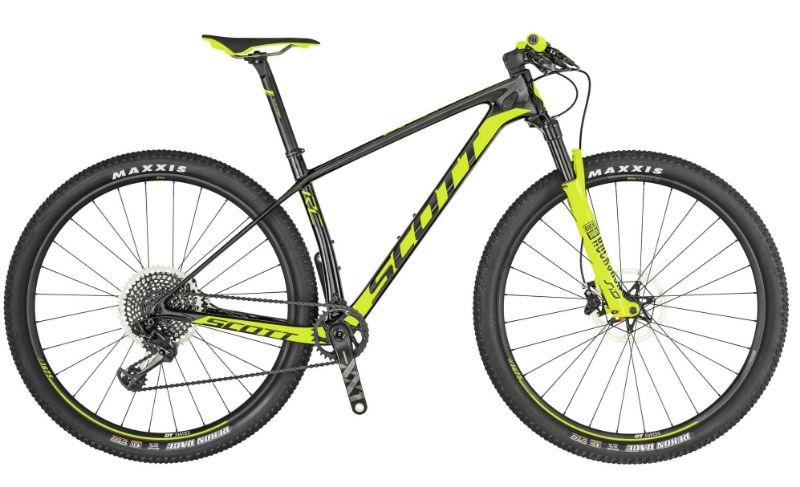 De Scott Scale RC 900 World Cup is bijna identiek aan de fiets van de wereldkampioen...