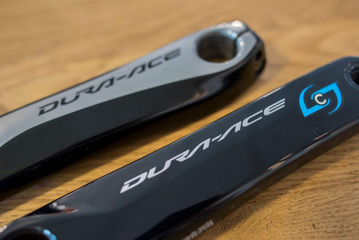 De Stages dubbelzijdige powermeter weegt maar 35 gram, dus je dure en lichte Shimano Dura-Ace wordt niet onnodig zwaar gemaakt.