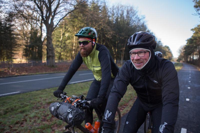 fietsen in de winter kan ook heel erg leuk zijn