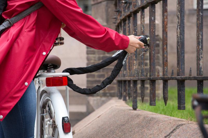 Het kettingslot wordt toch wel gezien als het meest veilige fietsslot.