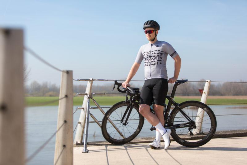 Een fietsbril die multifocaal geslepen is kun je gebruiken voor veraf en dichtbij, wel zo handig!