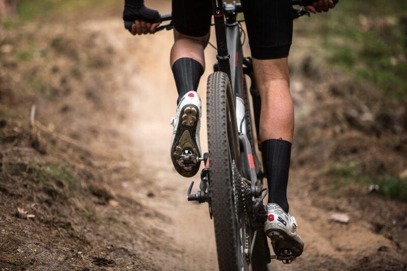 Beginnen met mountainbiken - klikpedaal