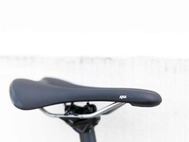 Het Bontrager Ajna fietszadel.