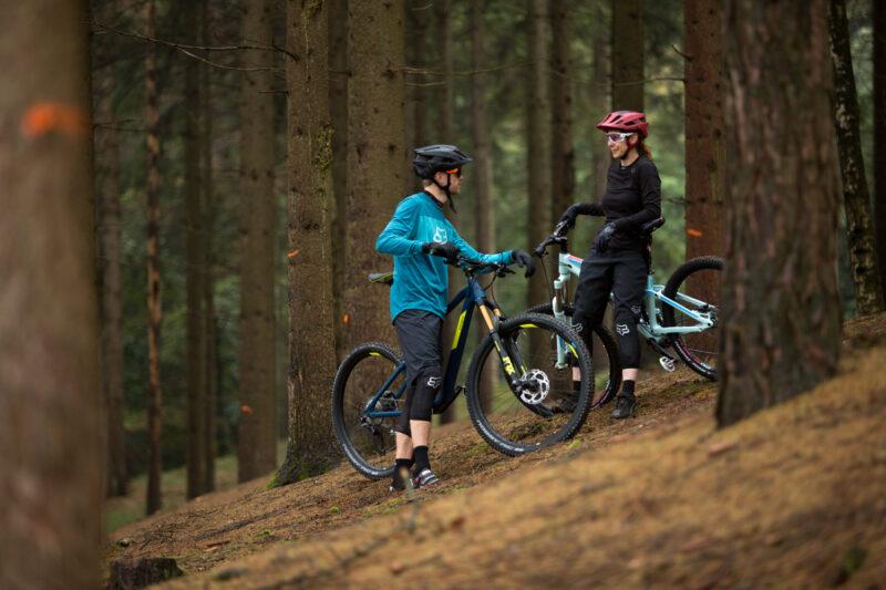 Steeds meer merken verkopen tegenwoordig dames mountainbikes zodat iedereen comfortabel kan beginnen met mountainbiken.