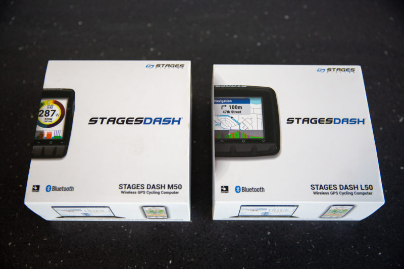 Doosje Stages Dash L50 en M50