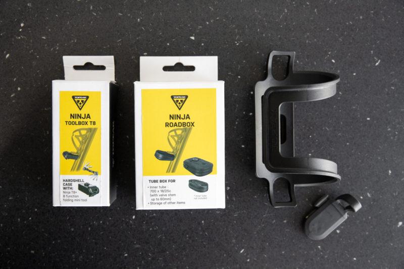 set accessoires van de Topeak Ninja serie