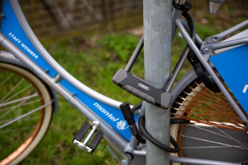 hoe meer fietssloten, hoe veiliger