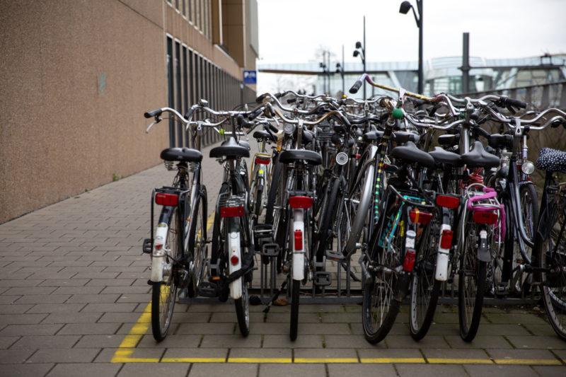 opvallende fietsen worden minder snel gestolen