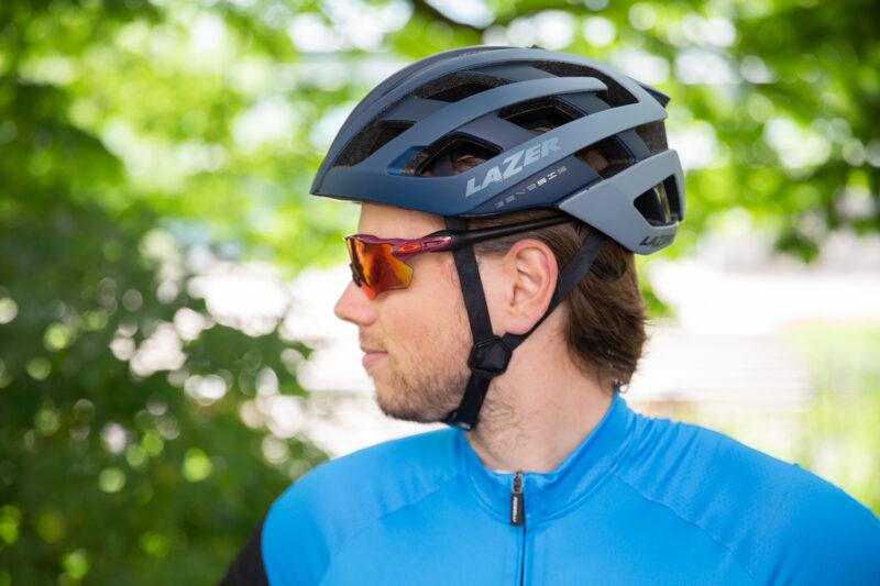 fietshelm goed afstellen