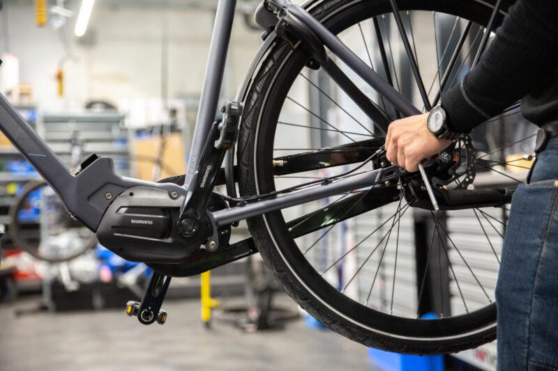 Via onze werkplaatsplanner kun je een afspraak maken voor een onderhoudsbeurt van je e-bike.