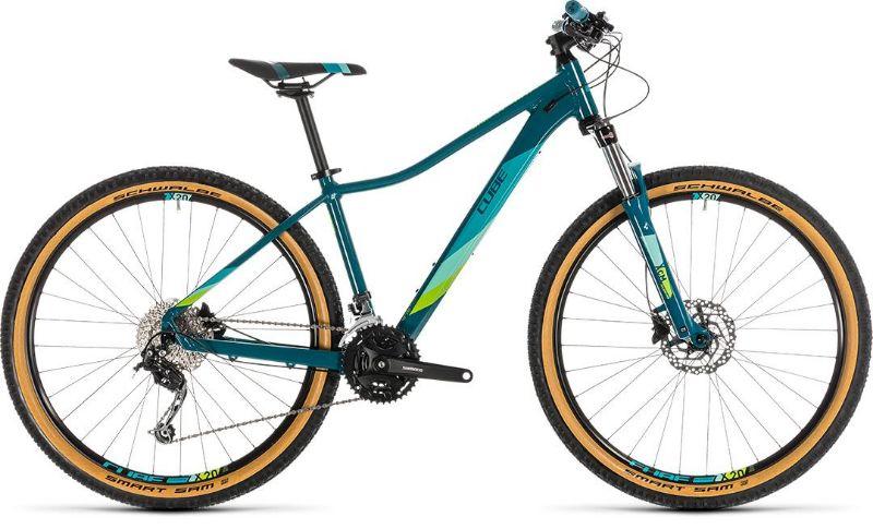 De Cube Access WS Pro is ideaal voor de beginnende mountainbikester die meteen met een hele goede fiets wil beginnen.