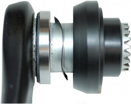 Bottom brackets - - Double bearings? Yes, that's possible!