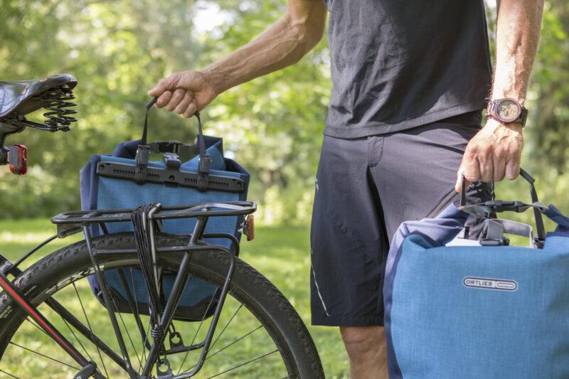 Afneembare fietstassen