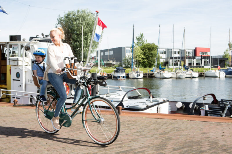 fietsstoeltje achter