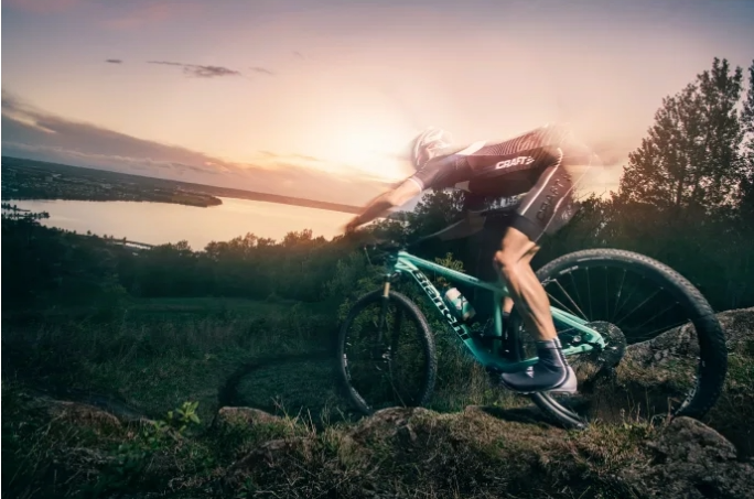 Craft cycling clothing for mountain bikers