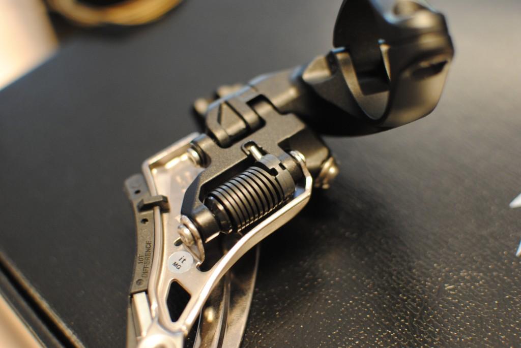 XTR M9000 voorderailleur