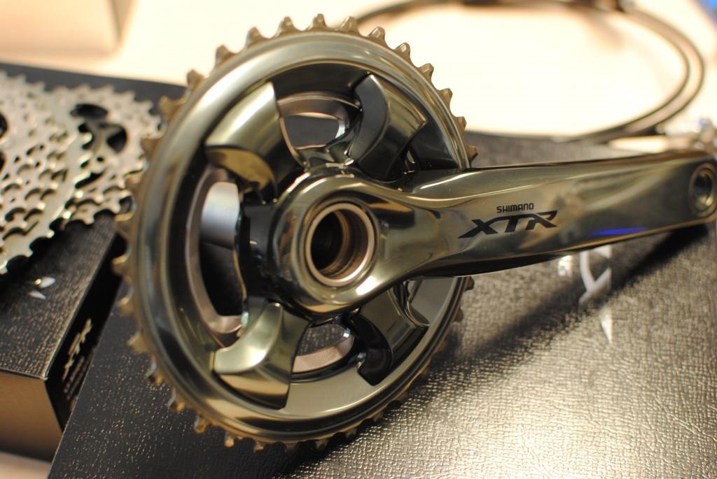 XTR M9000 crank