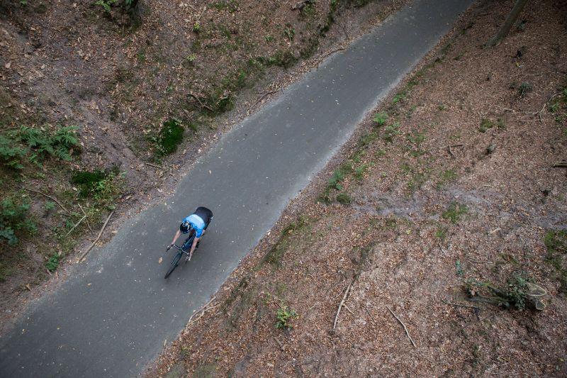 FTP-test van fietser