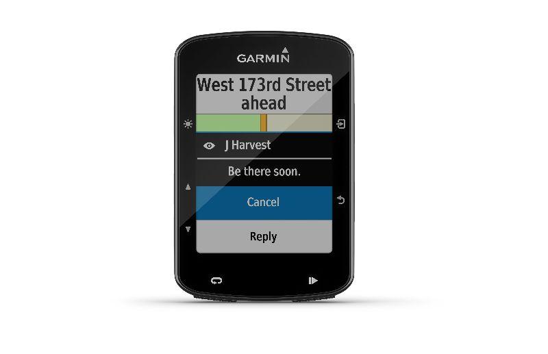 Verbindest du deinen Garmin Edge 520 Plus mit deinem Smartphone? Dann kannst du SMS und andere Nachrichten auf dem Garmin sehen.