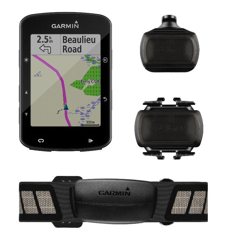 Wie immer gibt es den Garmin Edge 520 Plus auch im günstigen Set mit Herzfrequenzmesser, Trittfrequenzmesser und Geschwindigkeitssensor.