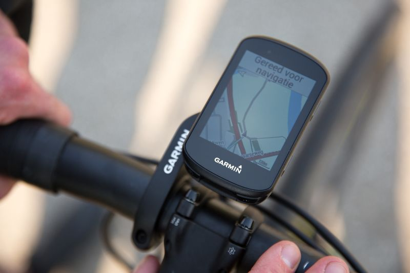 De navigatie op de 530 is zoals je gewend bent van Garmin, duidelijk en overzichtelijk.