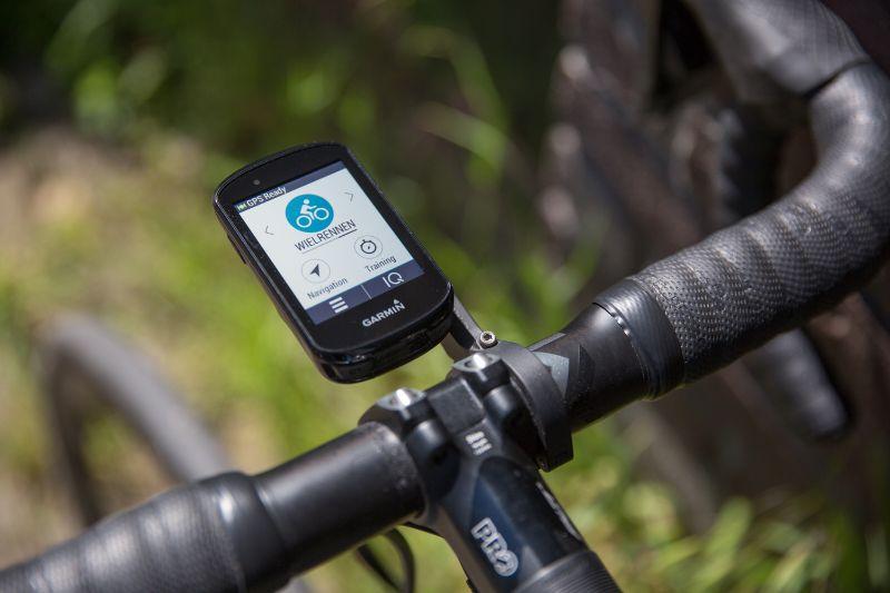 Met de profielen kun je zelf kiezen welke gegevensschermen je ziet tijdens je rit.