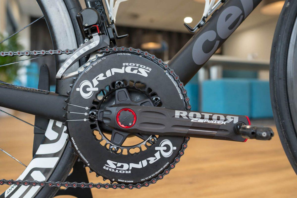 Das bekannte Rotor Q-Rings macht die Gruppe komplett.