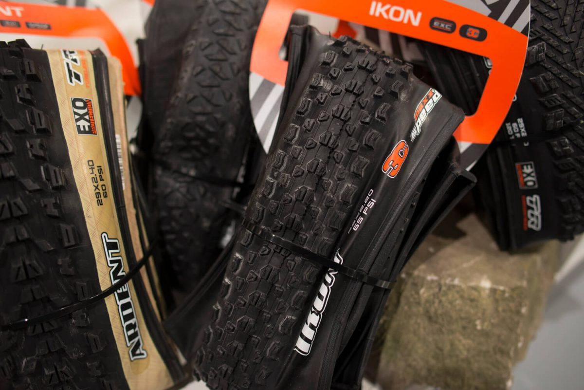 The Maxxis tyres are perfect for mountain bikers at any level, and ...