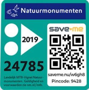 Natuurmonumenten MTB Vignet 2019