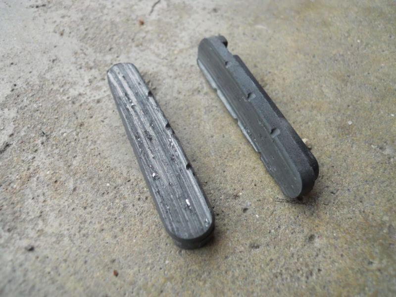Les patins de freins peuvent-ils encore être utilisés ? N'oubliez pas de les nettoyer quand même !