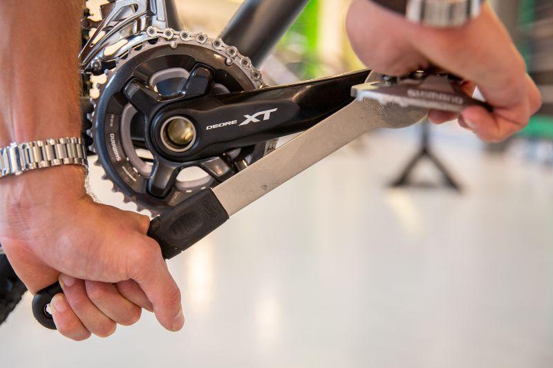 Pedale abmontieren fahrrad NS Bikes