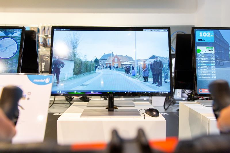 Want to feel like a true professional? Then Tacx Desktop App's videos might be your pick.