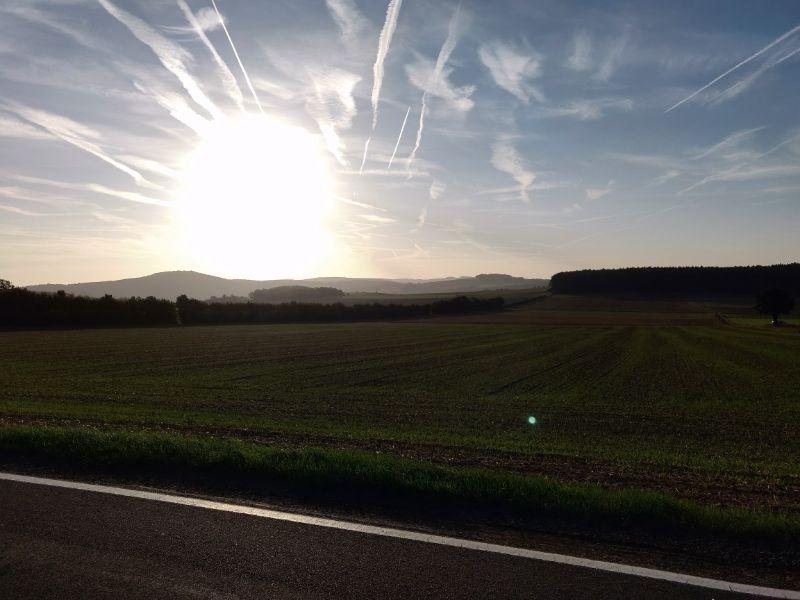 's Ochtends vroeg op stap gaan wordt vaak beloond met de mooiste landschappen.