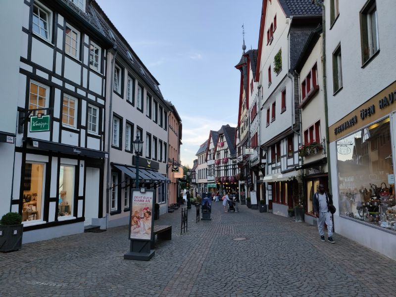 Nog een keer door het verrassend mooie Bad Münstereifel.