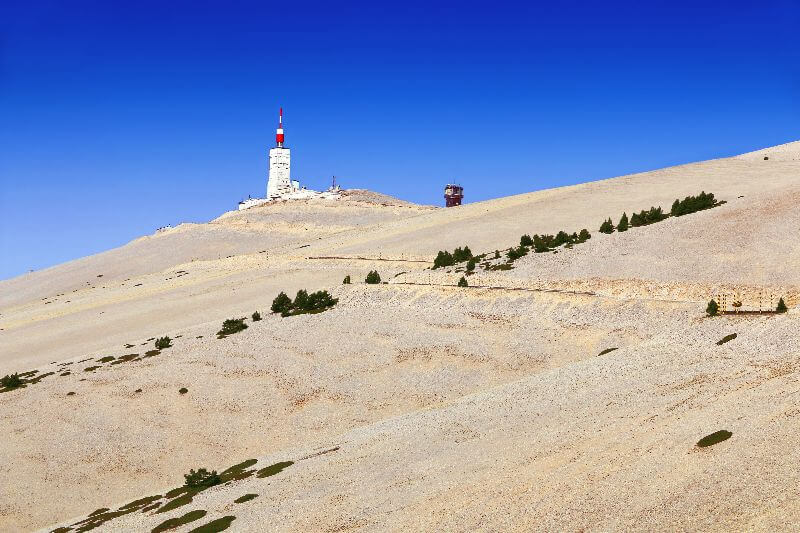 For many people, the Mont Ventoux is the most familiar mountain.