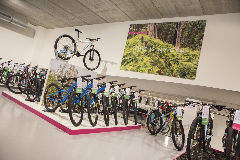 Mountainbiken voor vrouwen - Vrouwen Mountainbikes in de winkel
