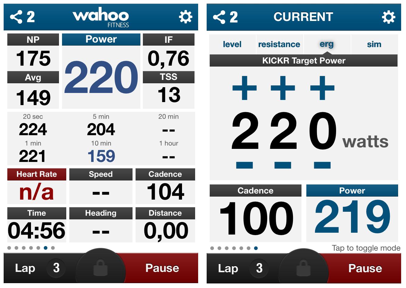 how to use wahoo fitness app