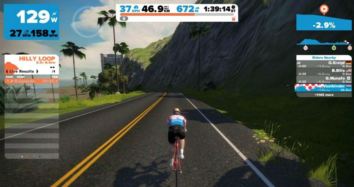 Naturellement, le maillot à pois représente le KOM des vraies collines.