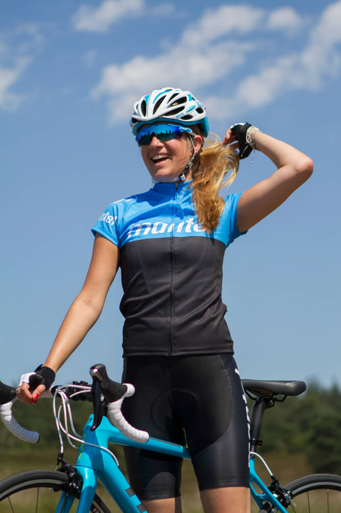 Getting the tyre pressure right also improves your comfort, so you'll still be smiling at the end of your ride.