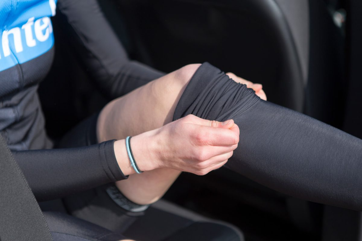 Besides the regular spare tubes and bike tools, a set of arm- and leg warmers are also a welcome addition, particularly in the spring and autumn
