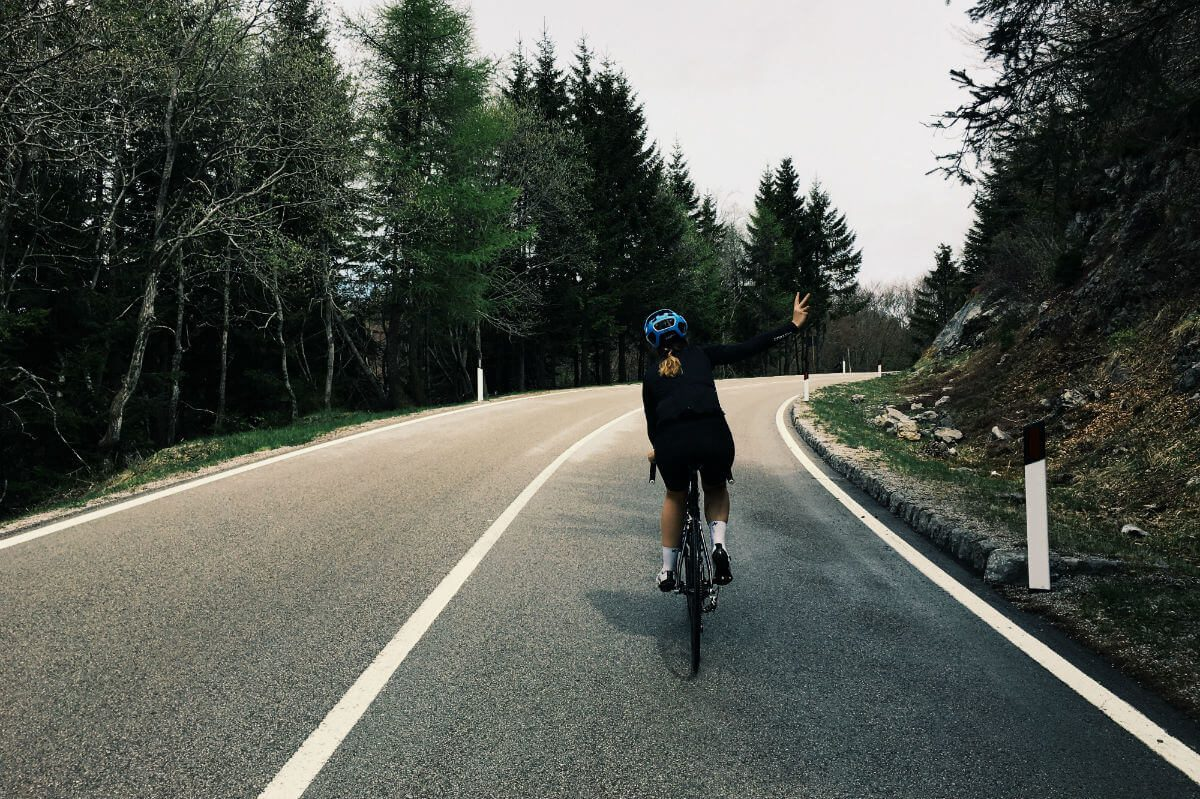 Met een goede fietsbroek met zeem fietst het een heel stuk aangenamer.