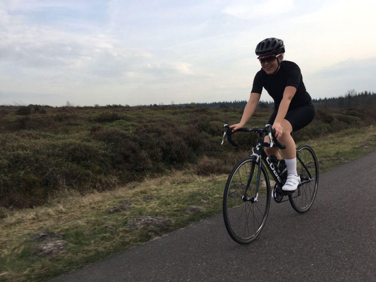There's no shame in practising a little with clipless pedals on a quiet road.