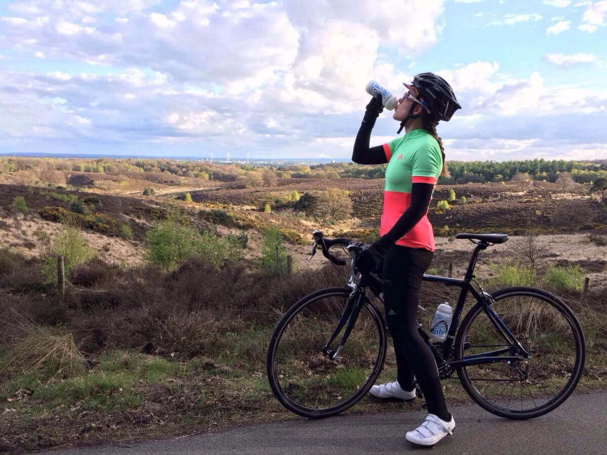Proper food and drink are essential, particularly on longer rides.