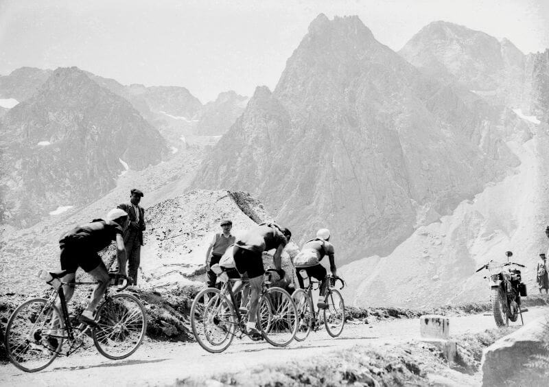 The Tourmalet has been conquered ever since the early days of the Tour de France.