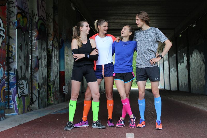 With good compression socks you'll recover sooner and get back to training faster.