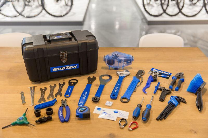 Deze fiets gereedschapskoffer van park Tool is een van de meest complete koffers die je kunt krijgen.