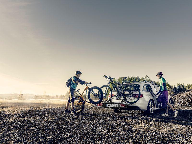 Heb je een zware fiets zoals een fatbike of elektrische fiets? Dan kun je een oprijgoot gebruiken zodat je niet hoeft te tillen.