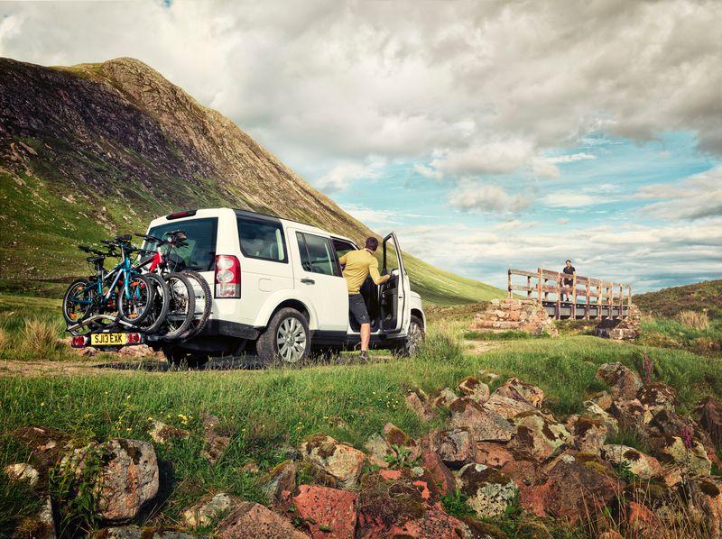 Met sommige fietsendragers kun je tot wel 4 fietsen tegelijk meenemen.