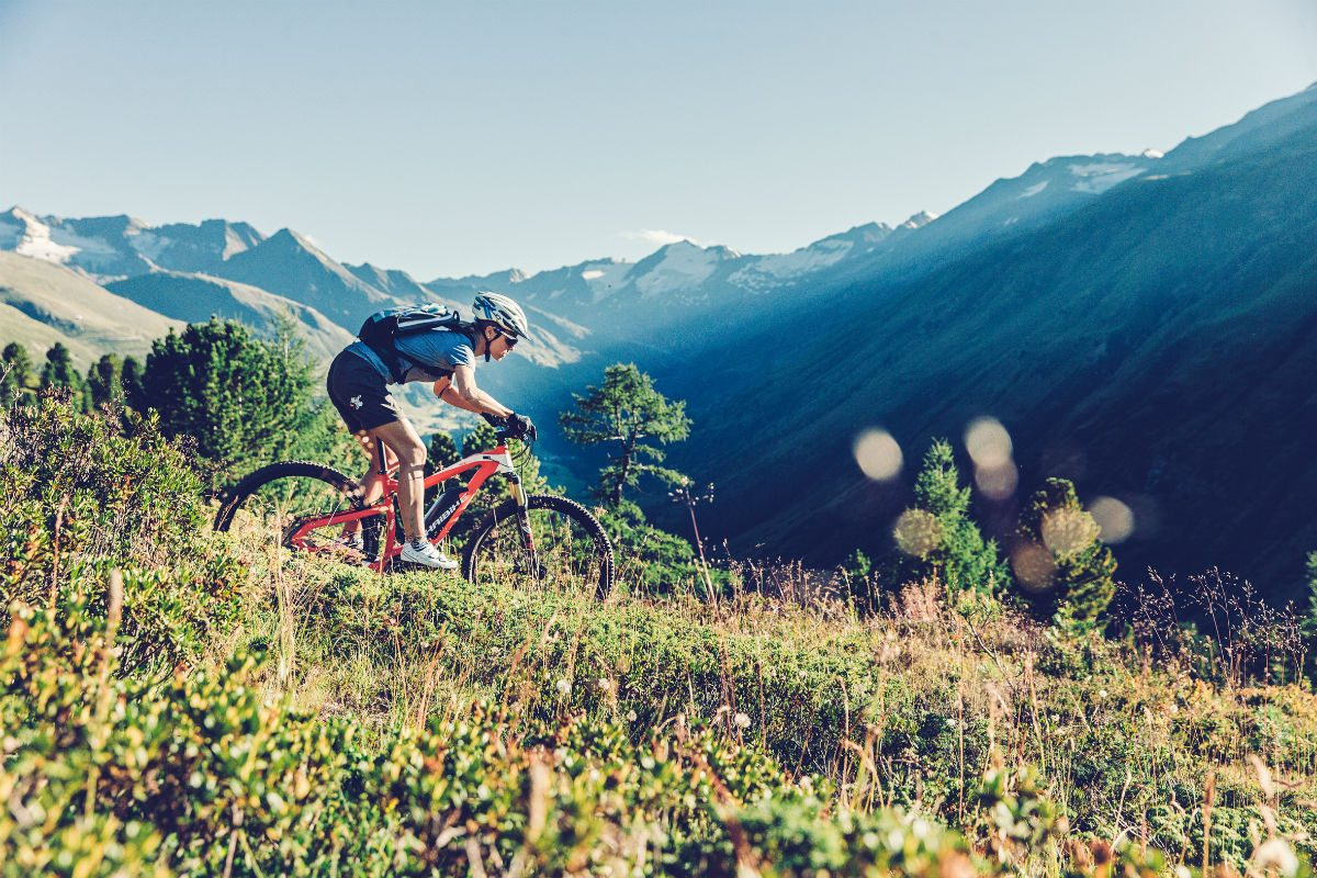 Met goede fietskleding kun je alles aan.